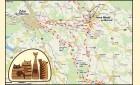 Trasa pro kolečkové lyže Highland Star 64 km