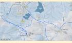 Lyžařské trasy - okruh 2